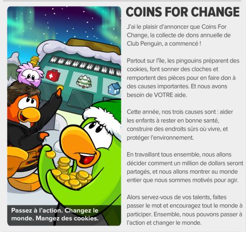 coin for change